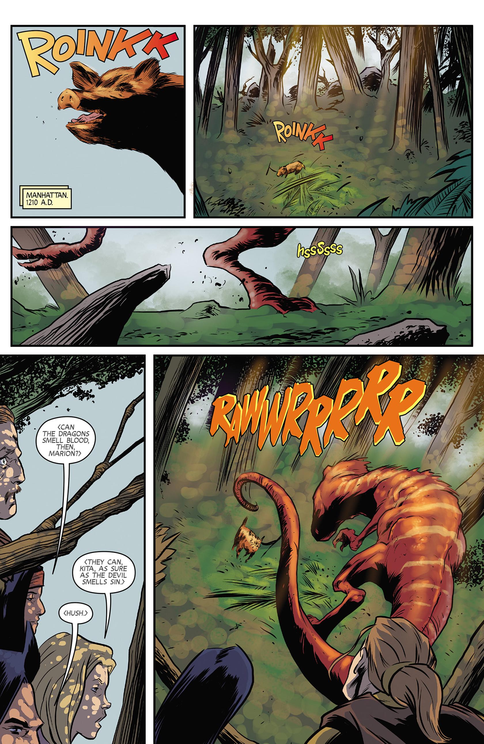 Read online Turok: Dinosaur Hunter (2014) comic -  Issue #9 - 3
