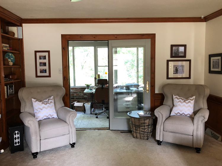 family room club chairs