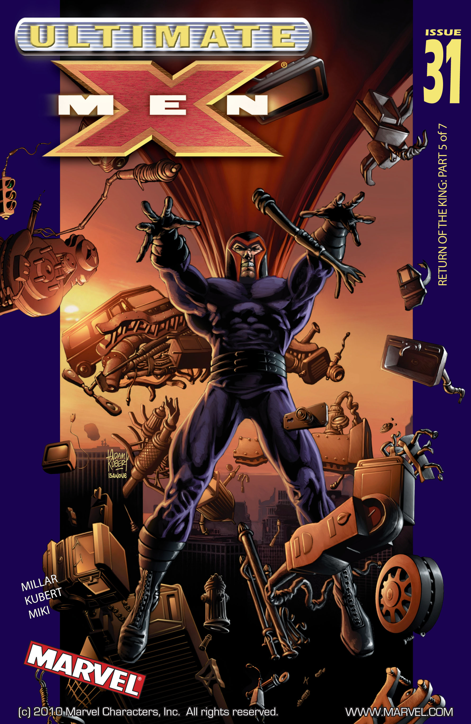 Read online Ultimate X-Men comic -  Issue #31 - 1