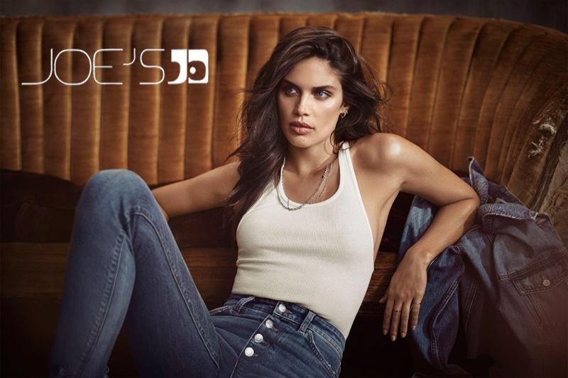 Sara Sampaio stars in Joe's Jeans fall-winter 2018 campaign