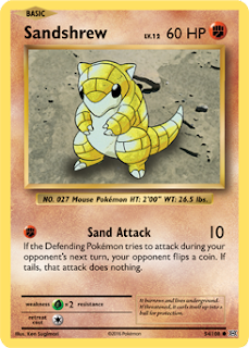 Sandshrew XY Evolutions Pokemon Card