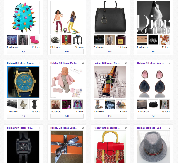 3cc203237482b All of my collections are based on a real shopping list and gifts that I  have purchased or plan on purchasing. One of my collections was inspired by  my ...