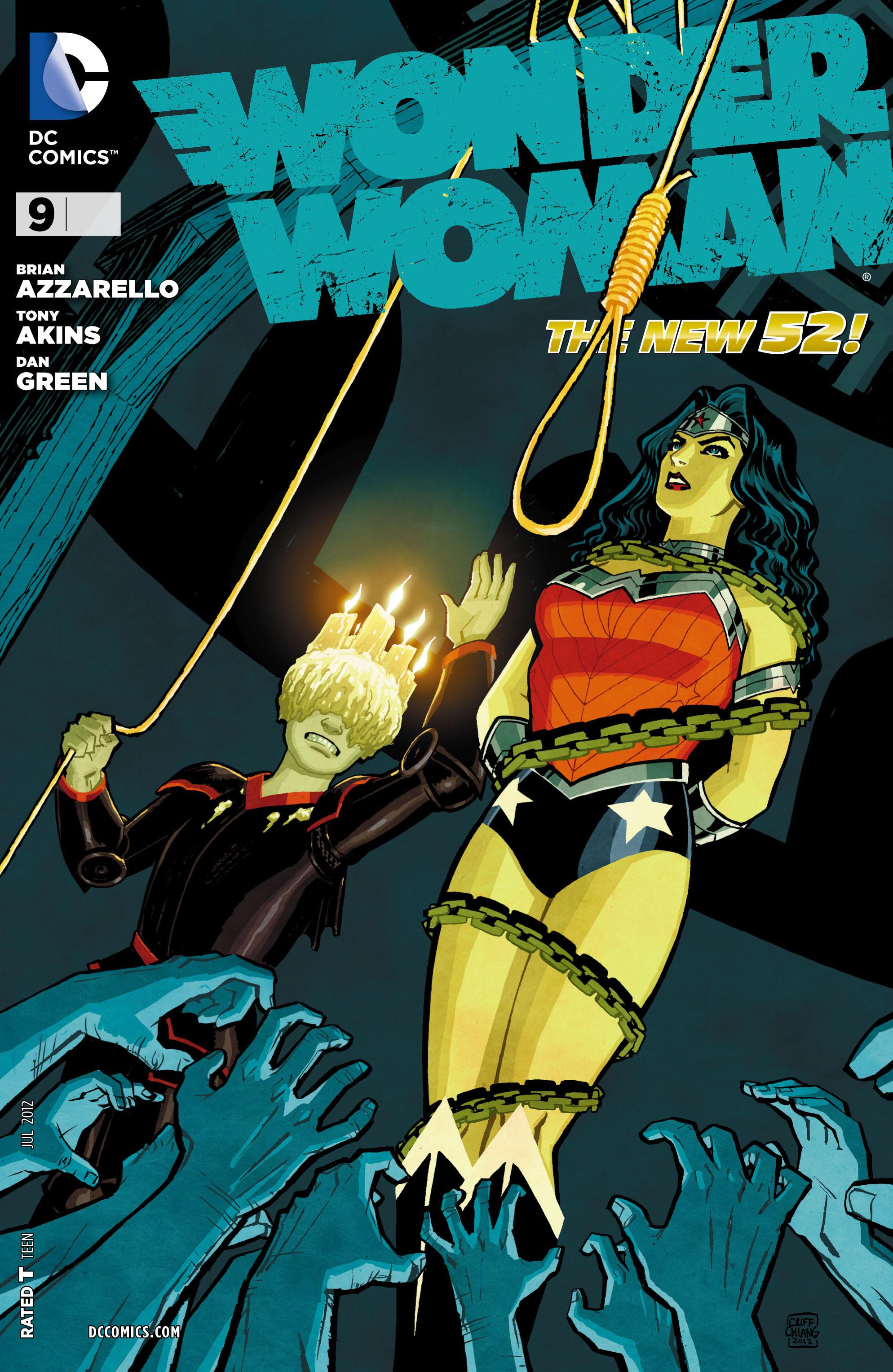 Read online Wonder Woman (2011) comic -  Issue #9 - 1