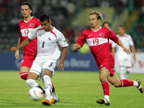 Turquía y Chile en partido amistoso, 20 de agosto de 2008