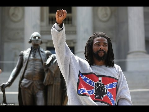VIDEO - Racistas apanham dos Black Panthers e Anti-Facistas no Estados Unidos