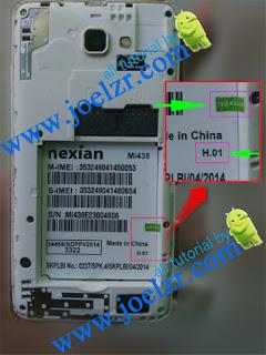 Stock Rom Nexian Mi438 H01