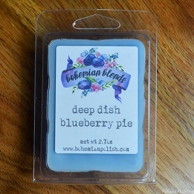 blueberry pie wax melt