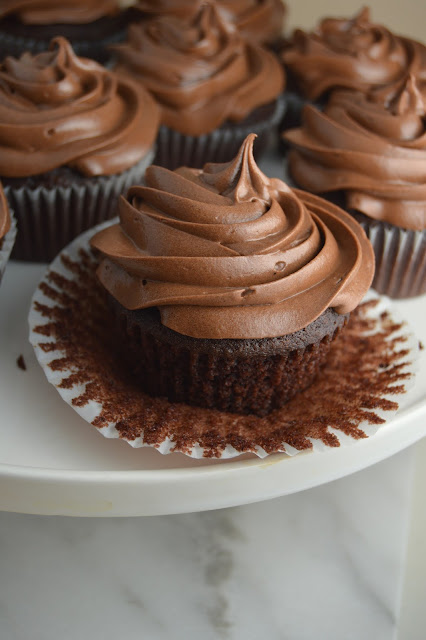 Mocha Cupcakes with Chocolate Frosting Recipe