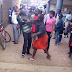 Watch how a Kenyan woman punched a man at a market place and see what he did next