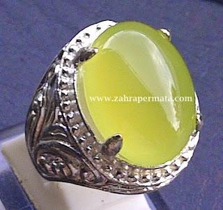 Batu Permata Green Chalcedony - ZP 380