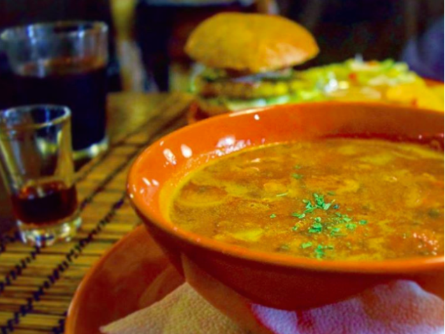 vegetarian goulash budapest