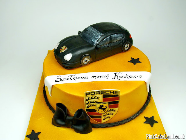 Porsche Birthday Cake in London
