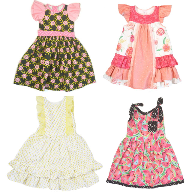 handmade girls dresses Etsy