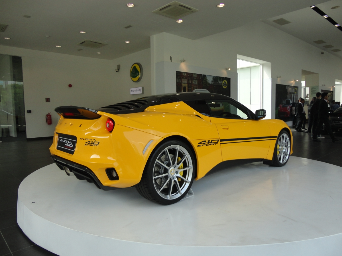 Motoring Malaysia The Lotus Evora Sport 410 Is Launched In Malaysia