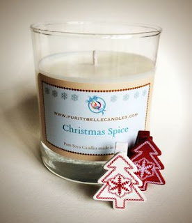 Christmas Spice Luxury Soy Candle by Purity Belle Candles