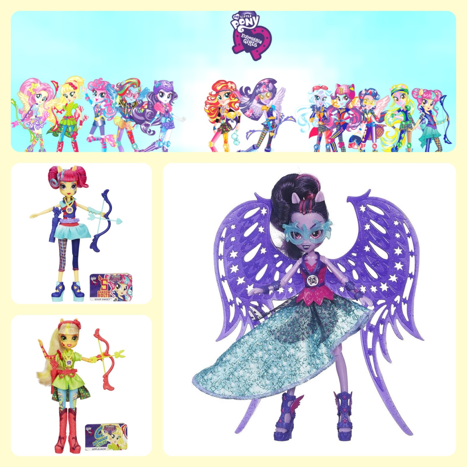 Santa List Equestria Girls Friendship Games Dolls