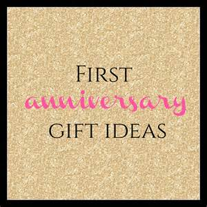 1st Wedding Anniversary Gifts and Ideas