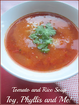 TOMATO AND RICE SOUP