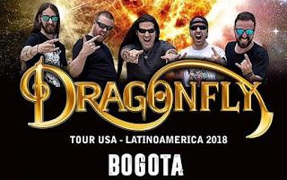 Concierto de DRAGONFLY en Bogotá 2018