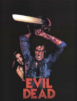 Poster Of The Evil Dead 1981 In Hindi Bluray 720P Free Download