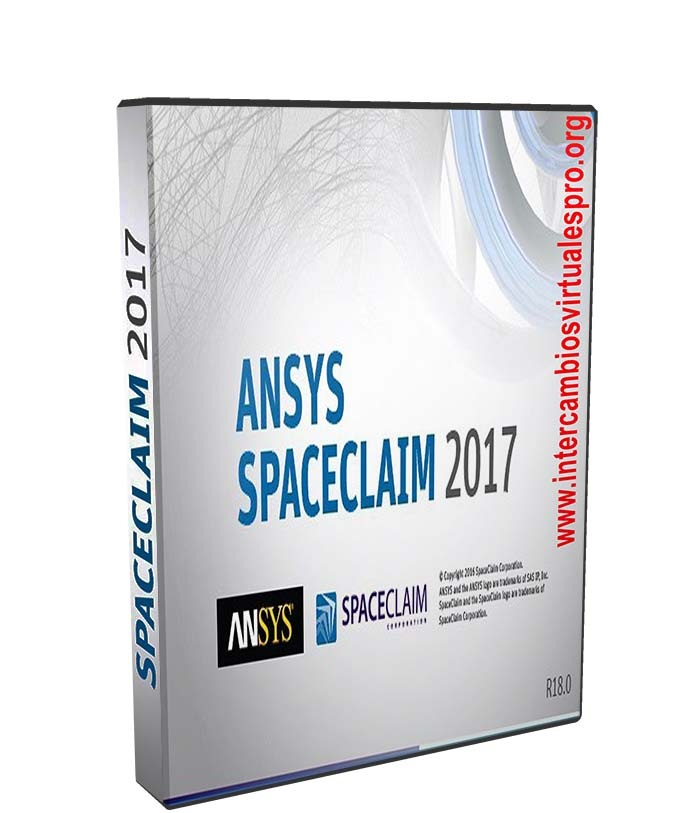ANSYS SpaceClaim 2017.1 R18.1 SP0 poster box cover
