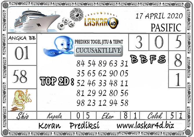 Prediksi Togel PASIFIC LASKAR4D 17 APRIL 2020