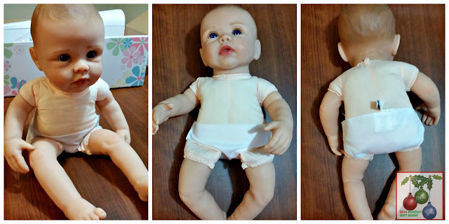 collectible dolls, realistic baby dolls, holiday gifts, Christmas gift guide