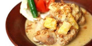 Opor Ayam Masak Nanas