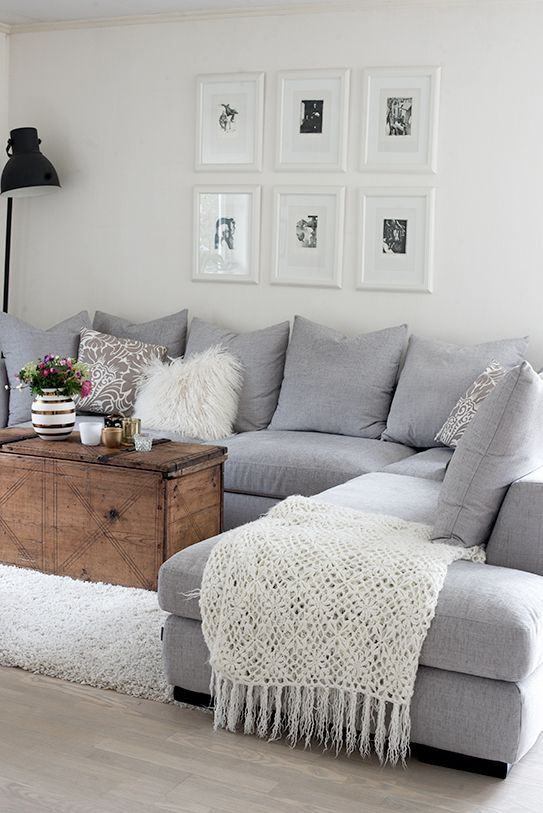 Drawinng Room: More Grey/White Living Rooms: 10 Splendid Living Rooms