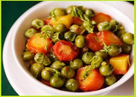 गाजर आलू की सब्ज़ी बनाने की रेसिपी   Aloo Gajar Matar Spicy Recipe in Hindi