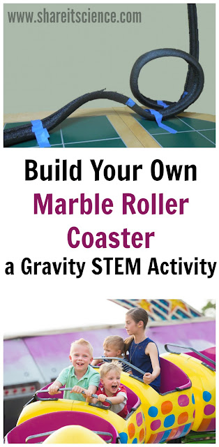 Roller Coaster Gravity STEM activity
