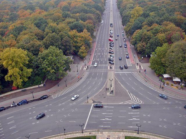 Berlin, Niemcy, stolica, drogi