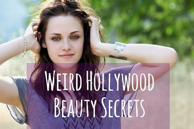 Weird Beauty Secrets of Hollywood celebrities 2012