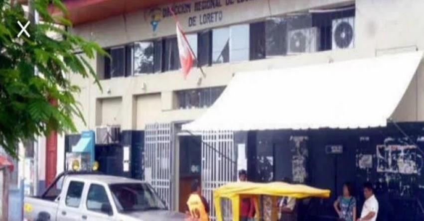 DRE Loreto exonera a más de 400 docentes de sanción impuesta por acatar huelga del año 2018