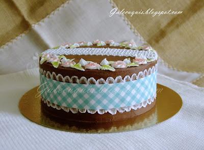 Flores de glasa para tarta