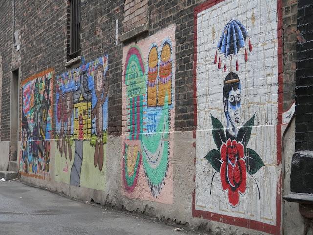 peintures murales à Pilsen Chicago