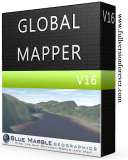 Global Mapper Latest full version 2015 with Crack Patch