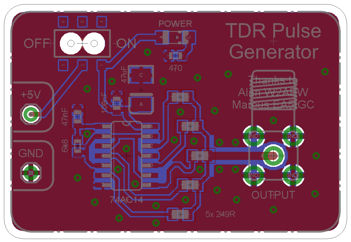 The Sync Channel Blog Tdr Pulse Generator Smt Version Generating Circuit After A Couple Weeks I Had Boards Back From Oshpark Almost All Of My These Days Are So Assembly Was Quick And Painless