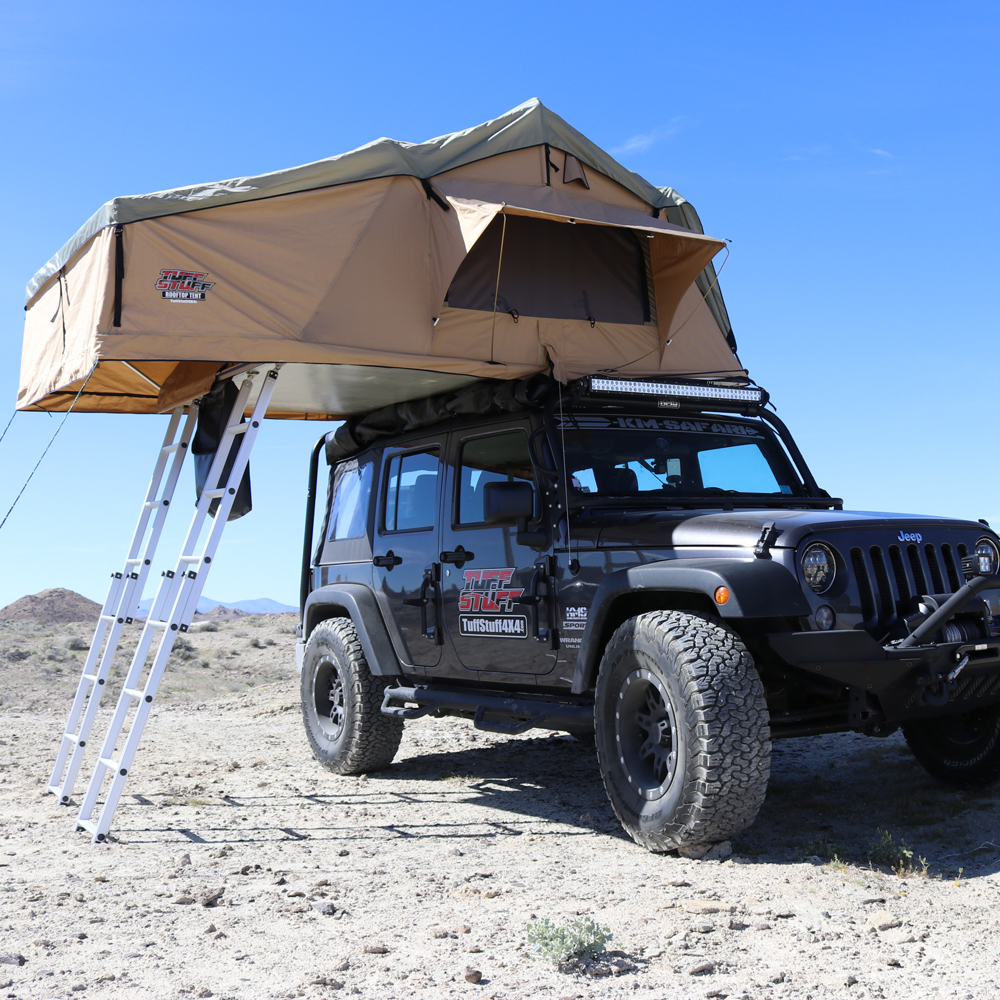 Solid Bumpers, Winch & Roof Top Tent Are Top Offroad ...