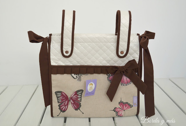 bolsa carrito mariposas