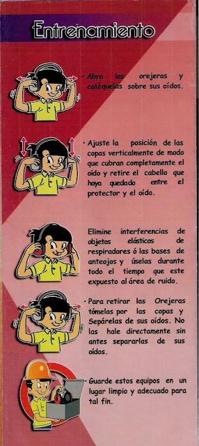 Como colocarse el protector auditivo tipo copa (Orejeras)