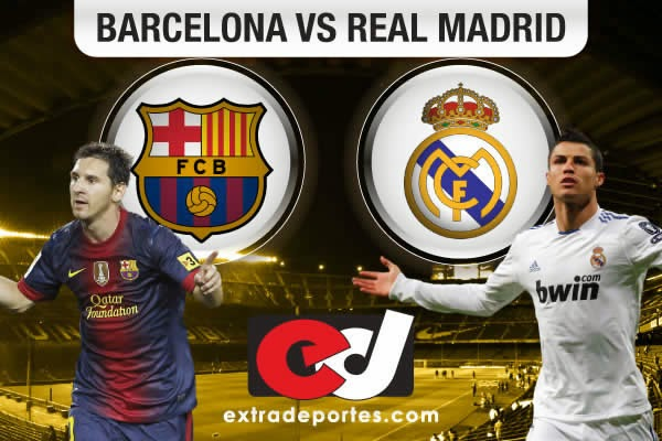 Barcelona vs Real Madrid en vivo 2014
