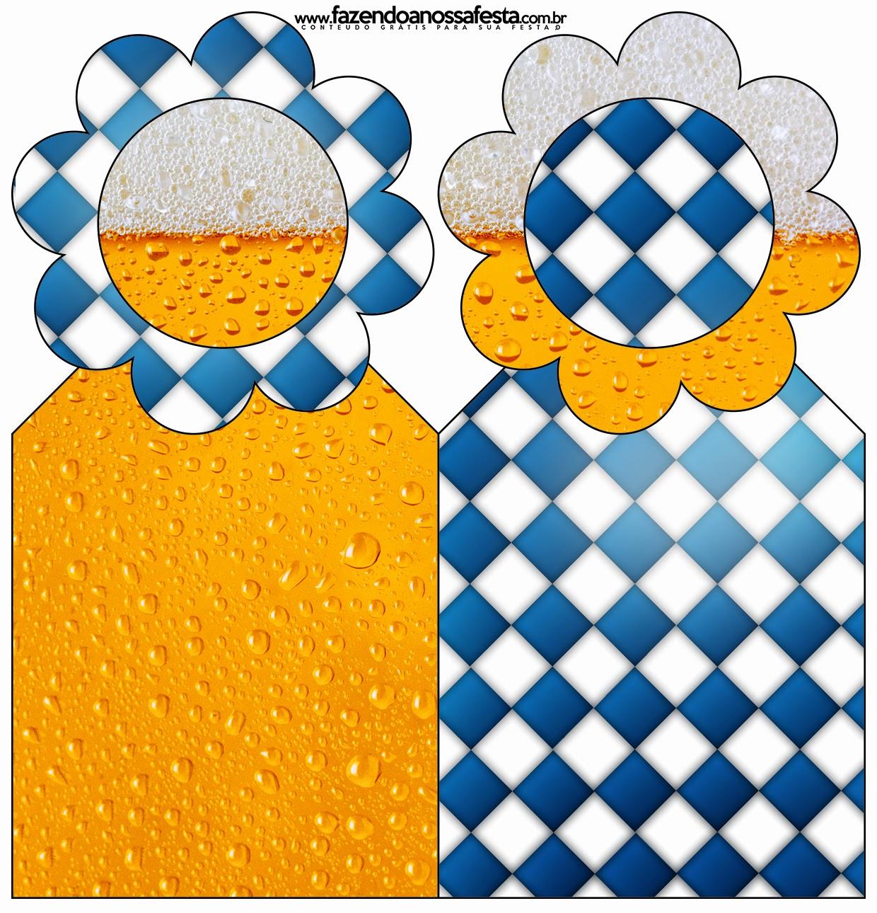 Para marcapáginas de Fiesta de la Cerveza.