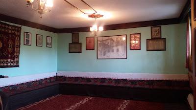 Hacı Bayram Veli Hazretlerinin Doğduğu Evin salon kısmı resmi