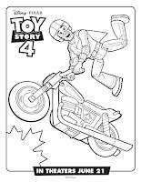 דפי צביעה צעצוע של סיפור 4