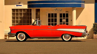 1957 Chevrolet Bel Air Convertible Side Left