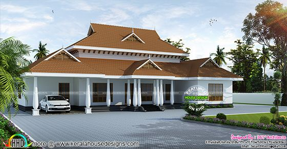 2861 sq-ft traditional home