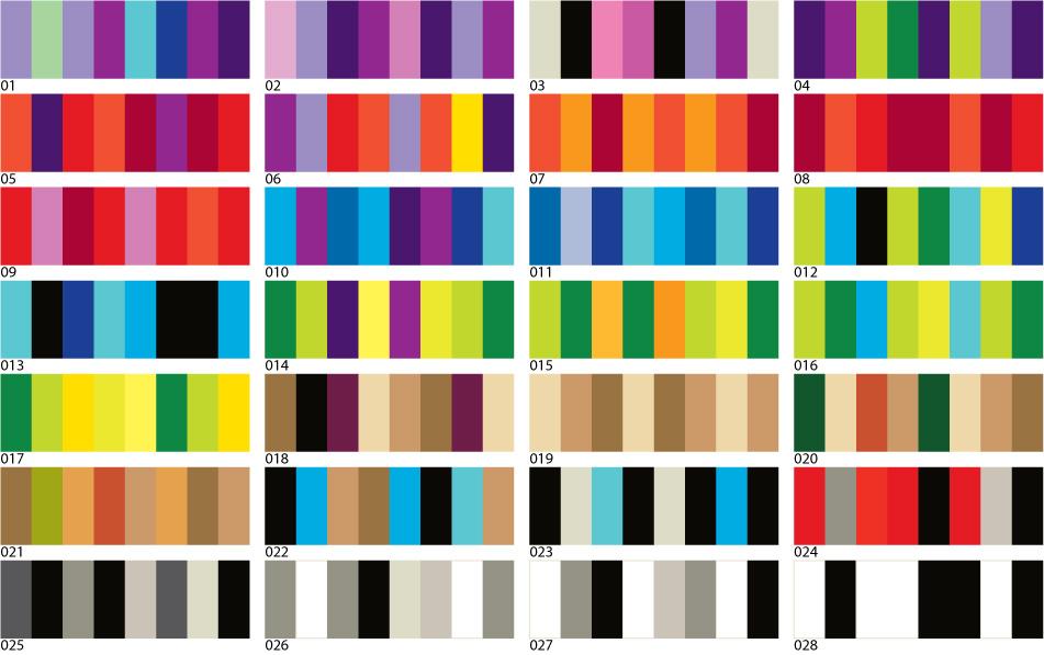 Ejemplos De Combinaciones La Psicologia De Los Colores Y Su Efecto - Colores-combinacion