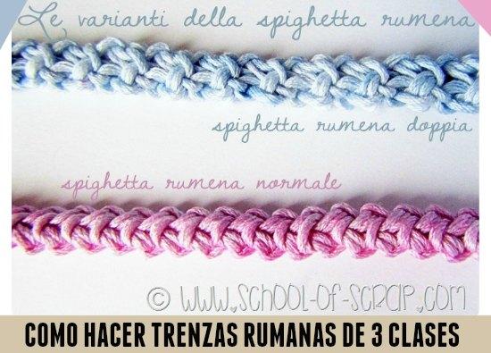 trenzas, rumanas, crochet, tutoriales, ganchillo, trenzados