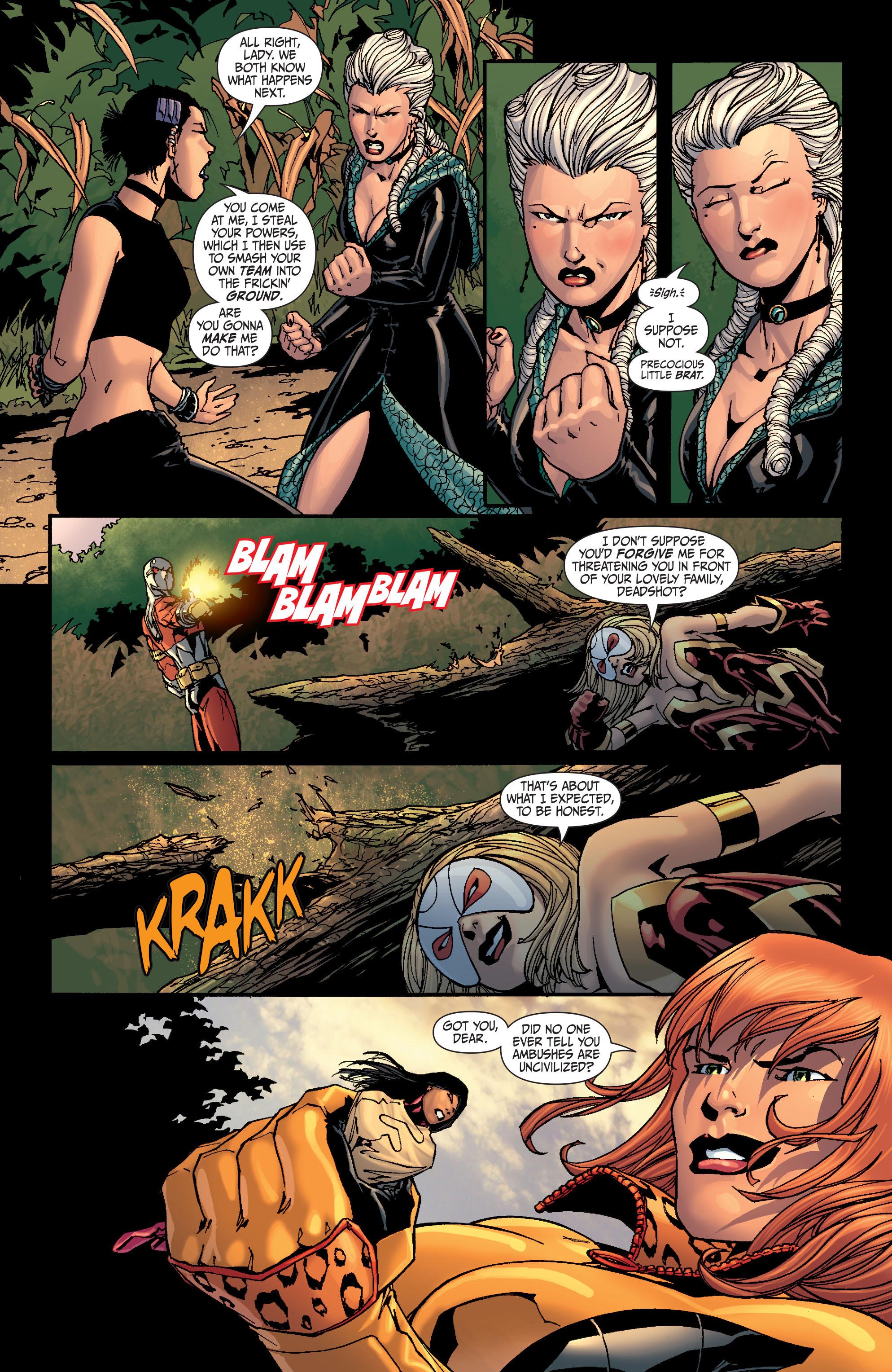 Read online Secret Six (2008) comic -  Issue #26 - 20